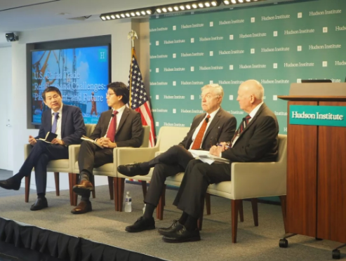 Analyze future scenarios for the US-China trade dispute|CCG launches new report in Washington at the Hudson Institute